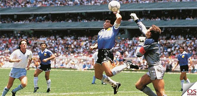 Maradona ve Tanrının tokadı