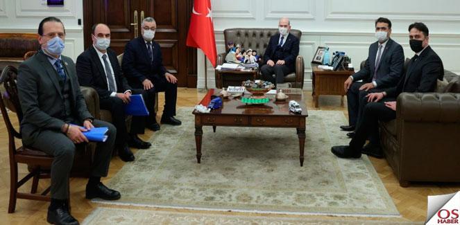 İçişleri Bakanı Süleyman Soylu Ziyareti