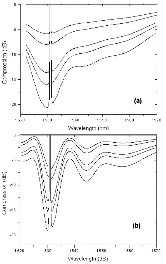 Inhomogeneous broadening in EDFAs