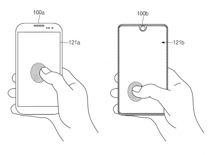Samsung introduces new fingerprint reader with full front