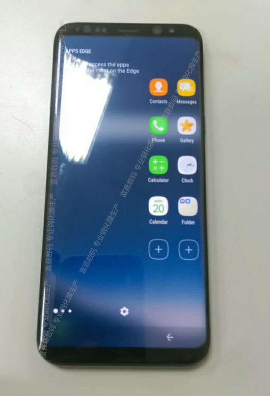 Samsung Galaxy S8 real machine leaked