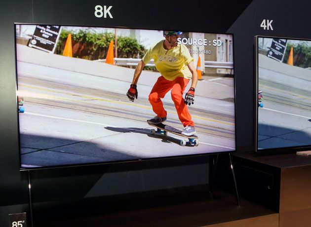 Samsung launches the Q9S, a TV that increases the resolution of content to 8K