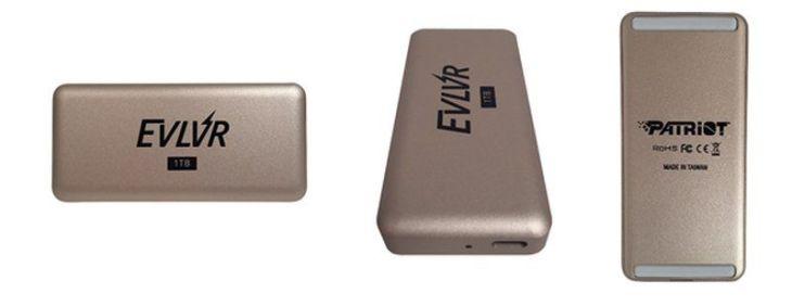 Patriot presents its new external SSD EVLVR Thunderbolt 3