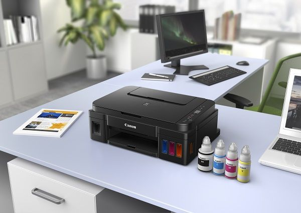 Canon PIXMA G, printers with refillable ink tanks