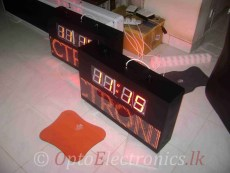 CLOCK LED MATRIX WIRELESS 01