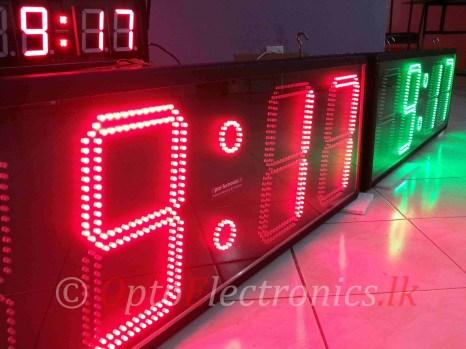 "12"" Precision digital clock"