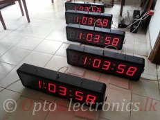 "4"" Precision digital clock"