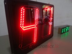 "Large 12"" Seven Segment Displays"