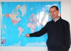 Mr PARADIS, Gérant de la société Optomachines
