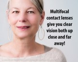 OBS multifocal contacts