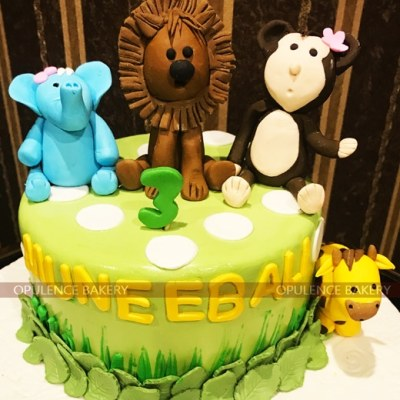 2 Pounds Animal Themed Cake Fondant