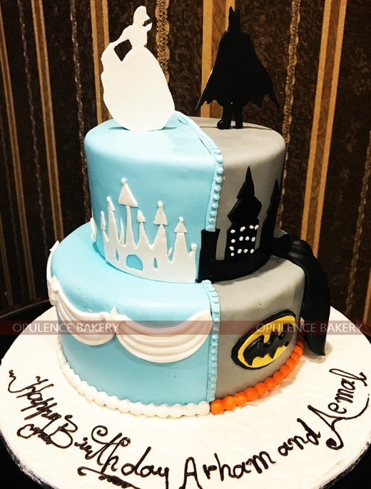 cartoon characters cake