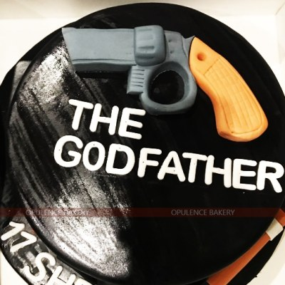 Godfather Themed Cake in 3 Pounds