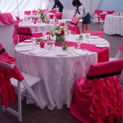 Events By Designer Chair Covers Macrame Patterns Pink Weddings  My Favorite Opulence Floral Design