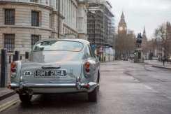 The Aston Martin DB5 on Whitehall, London.