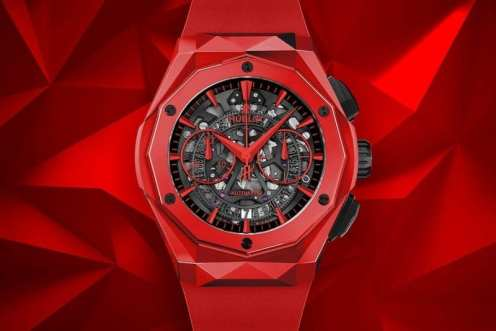 hublot classic fusion red opulent club 2