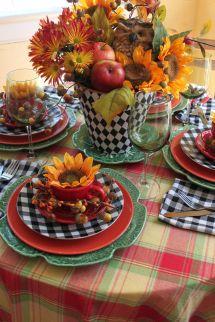Opulent Cottage Fall Mix Tablescape