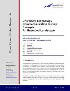 University Survey Summary 151 Cover