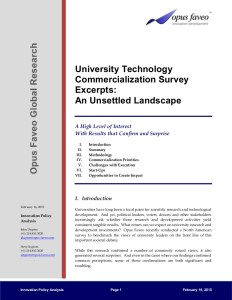 University Survey Summary 151 Cover