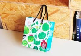 「まちだシルクメロン用手提げ袋」「まちだシルクメロン_ツール一式」 町田商工会議所・NPO法人プラナス