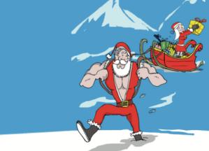 Progrès Son transforme le Père Noël en rockeur !
