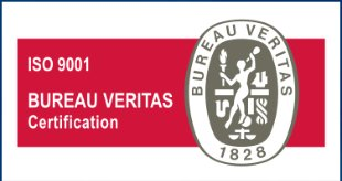 Selo ISO 9001 Bureau Veritas Certification