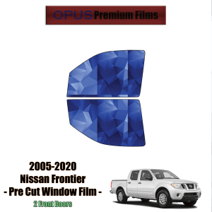 2005 – 2020 Nissan Frontier – 2 Front Windows Precut Window Tint Kit Automotive Window Film