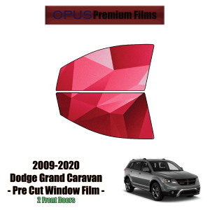 2009 – 2020 Dodge Journey – 2 Front Windows Precut Window Tint Kit Automotive Window Film