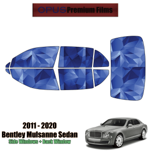 2011 – 2020 Bentley Mulsanne – Full Sedan Precut Window Tint Kit Automotive Window Film