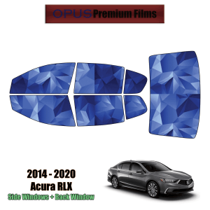 2014 – 2020 Acura RLX – Full Sedan Precut Window Tint Kit Automotive Window Film