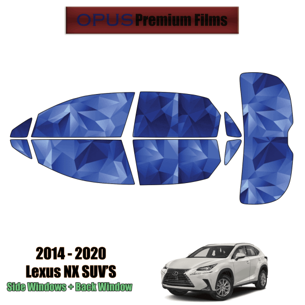 2014 – 2020 Lexus NX – Full SUV Precut Window Tint Kit Automotive Window Film