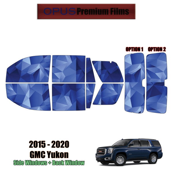 2015 – 2020 GMC Yukon – Full SUV Precut Window Tint Kit Automotive Window Film