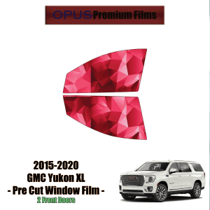 2015 – 2020 GMC Yukon XL – 2 Front Windows Precut Window Tint Kit Automotive Window Film