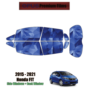 2015 – 2021 Honda Fit – Full Hatchback Precut Window Tint Kit Automotive Window Film