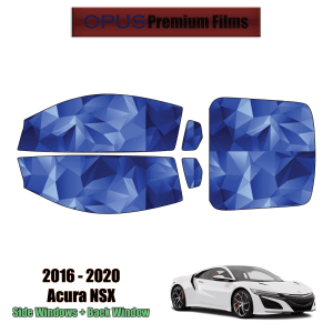 2016 – 2020 Acura NSX – Full Coupe Precut Window Tint Kit Automotive Window Film