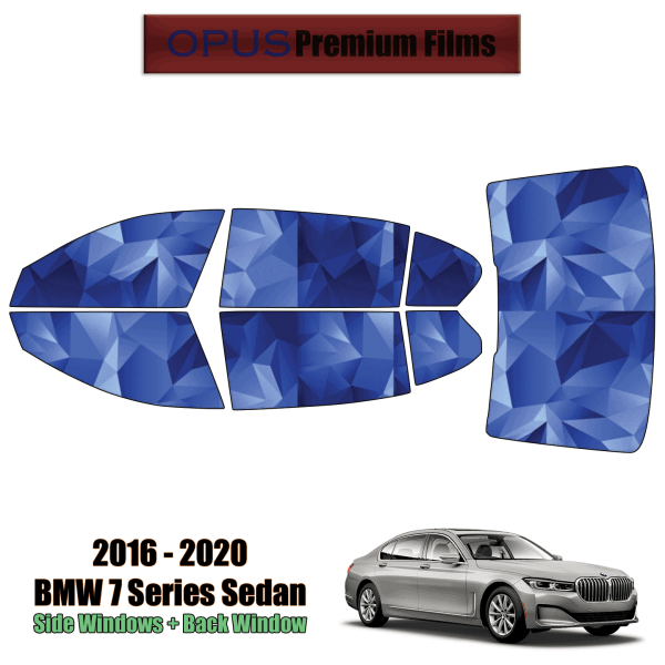 2016 – 2020 BMW 7 Series Sedan – Full Sedan Precut Window Tint Kit Automotive Window Film