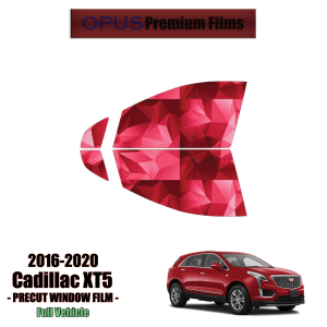 2016 – 2020 Cadillac XT5 – 2 Front Windows Precut Window Tint Kit Automotive Window Film