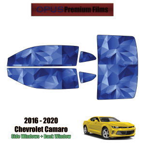 2016 – 2020 Chevrolet Camaro – Full Coupe Precut Window Tint Kit Automotive Window Film