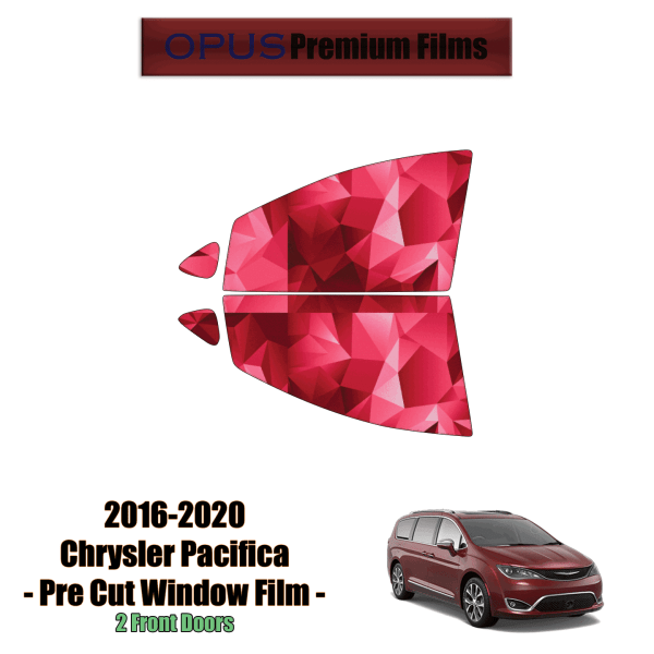 2016 – 2020 Chrysler Pacifica 2 Front Windows (PreCut Window Film)