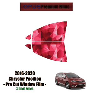 2016 – 2020 Chrysler Pacifica – 2 Front Windows Precut Window Tint Kit Automotive Window Film