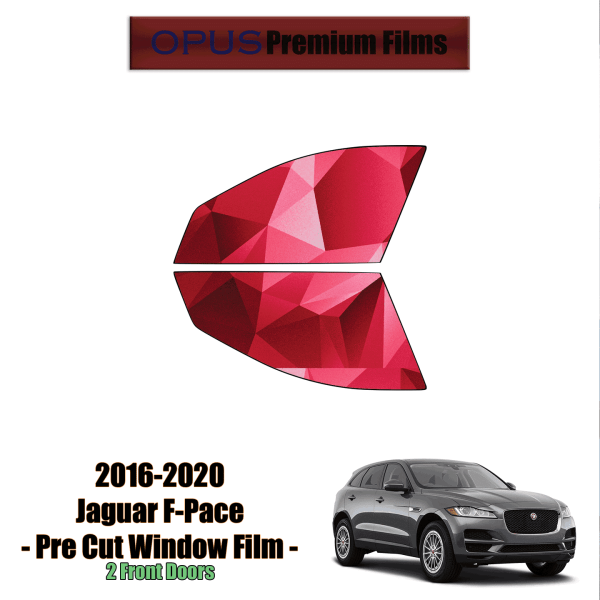 2017 – 2020 Jaguar F-Pace – 2 Front Windows Precut Window Tint Kit Automotive Window Film