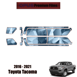 2016 – 2021 Toyota Tacoma – Paint Protection Kit PPF ( Rocker Panels 5′ Bed )