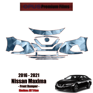 2016 – 2021 Nissan Maxima – Precut Paint Protection Kit (PPF) – Front Bumper
