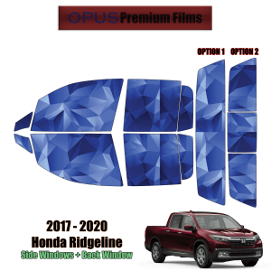 2017 – 2020 Honda Ridgeline – Full Truck Precut Window Tint Kit Automotive Window Film