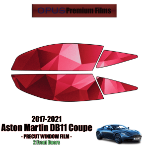 2017 – 2021 Aston Martin DB11 Coupe Front Windows (PreCut Window Film)