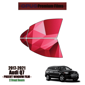 2017 – 2021 Audi Q7 – 2 Front Windows Precut Window Tint Kit Automotive Window Film