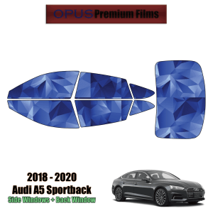 2018 – 2021 Audi A5 Sportback – Full Sedan Precut Window Tint Kit Automotive Window Film