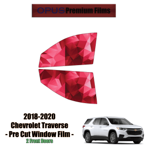 2019 – 2020 Chevrolet Traverse – 2 Front Windows Precut Window Tint Kit Automotive Window Film