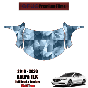 2018 – 2020 Acura TLX – Precut Paint Protection Kit (PPF) – Full Hood + Fenders