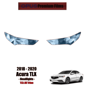 2018 – 2020 Acura TLX – Precut Paint Protection Kit (PPF) – Headlights